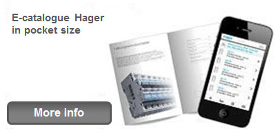 E-catalogue Hager in pocket size